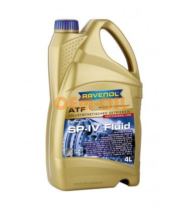 Трансмиссионное масло для АКПП RAVENOL ATF SP-IV Fluid (4л) new