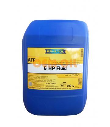 Трансмиссионное масло RAVENOL ATF 6 HP Fluid (20л) new