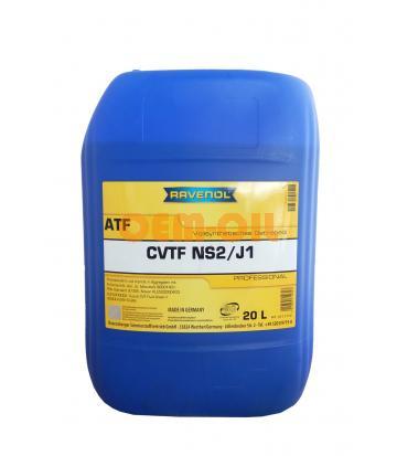 Трансмиссионное масло RAVENOL CVTF NS2/J1 Fluid (20л) new
