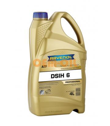 Трансмиссионное масло RAVENOL ATF DSIH 6 (4л) new