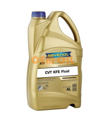 Трансмиссионное масло RAVENOL CVT KFE Fluid (4л) new