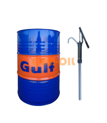 Набор GULF Formula G SAE 5W-30 (200л) + Насос ручной Gulf