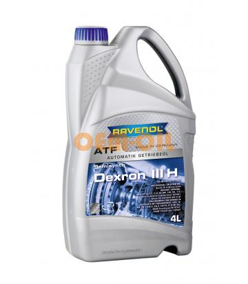 Трансмиссионное масло для АКПП RAVENOL Dexron III H (4л) new