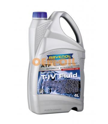 Трансмиссионное масло для АКПП RAVENOL T-IV Fluid (4л) new