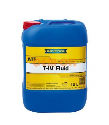 Трансмиссионное масло для АКПП RAVENOL T-IV Fluid (10л) new