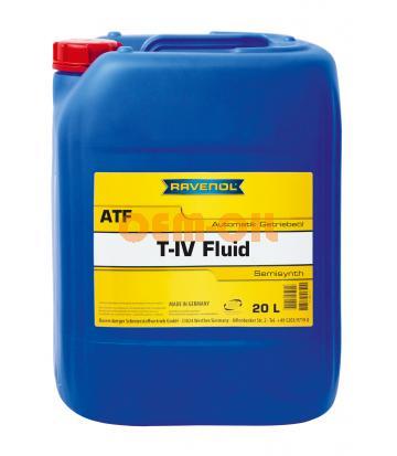 Трансмиссионное масло для АКПП RAVENOL T-IV Fluid (20л) new
