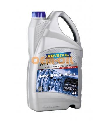 Трансмиссионное масло для АКПП RAVENOL MM SP-III Fluid (4л) new