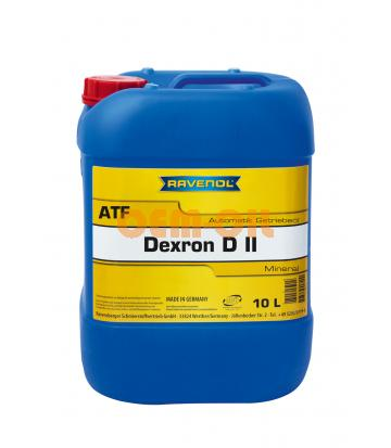 Трансмиссионное масло для АКПП RAVENOL Automatik Dexron D II (10л) new