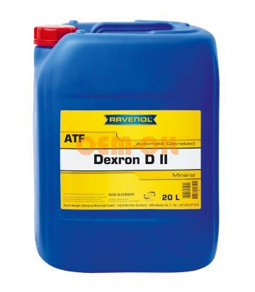 Трансмиссионное масло для АКПП RAVENOL Automatik Dexron D II (20л) new