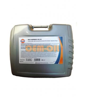 Гидравлическое масло GULF Harmony HVI 32 (20л)