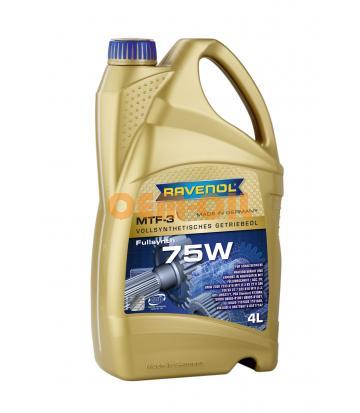 Трансмиссионное масло RAVENOL MTF -3 SAE 75W (4л) new
