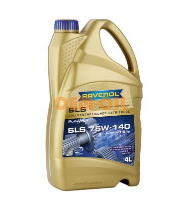 Трансмиссионное масло RAVENOL SLS SAE 75W-140 (4л) new