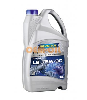Трансмиссионное масло RAVENOL Getriebeoel LS SAE 75W-90 (4л) new