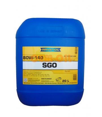 Трансмиссионное масло RAVENOL Getriebeoel SGO SAE 80W-140 (20л)