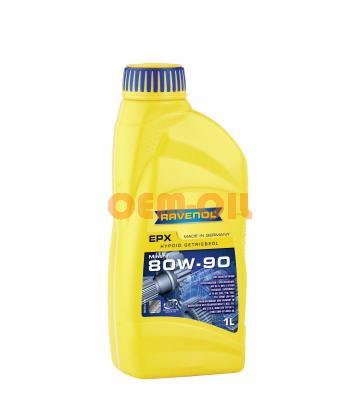 Трансмиссионное масло RAVENOL Hypoid EPX SAE 80W-90 (1л) new