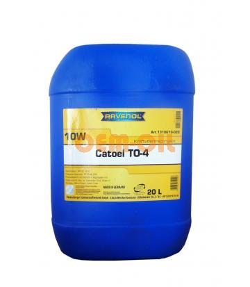 Трансмиссионное масло RAVENOL Catoel TO-4 SAE 10W (20л)