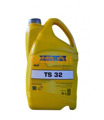 Гидравлическое масло RAVENOL ТS 32 (5л) new