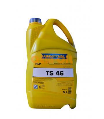 Гидравлическое масло RAVENOL ТS 46 (5л) new