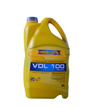 Компрессорное масло RAVENOL VDL 100 (5л) new
