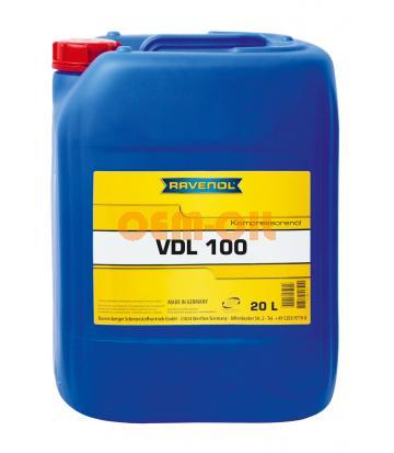 Компрессорное масло RAVENOL VDL 100 (20л) new