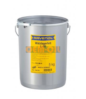 Смазка RAVENOL Waelzlagerfett LI-86 (5кг)