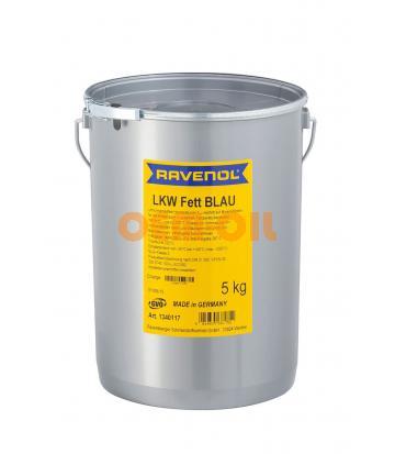 Смазка RAVENOL LKW Fett Blau (5кг)