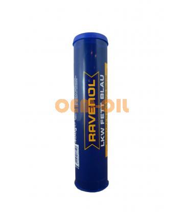 Смазка RAVENOL LKW Fett Blau ( 0,4кг) new