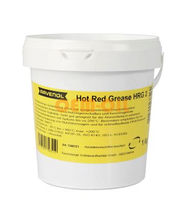 Смазка RAVENOL Hot Red Grease HRG 2 (1кг)
