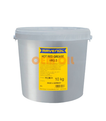 Смазка RAVENOL Hot Red Grease HRG 2 (10кг)