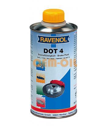 Тормозная жидкость RAVENOL DOT-4 (1 л)