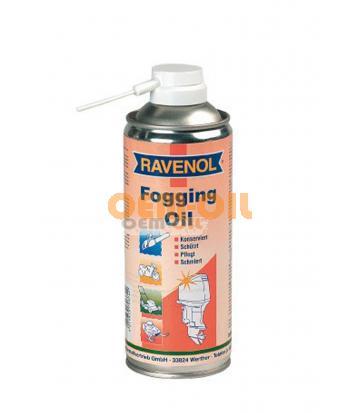 Консервир.смазка-спрей для 2 и 4Т двиг. RAVENOL Fogging Oil (0,4л)