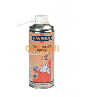 Пропит.масло-спрей для поролон.фильтров RAVENOL Air Filter Oil-Spray (0,4л)
