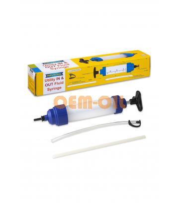 Ручной шприцевой насос RAVENOL® Utility In & Out Fluid Syringe для замены масла