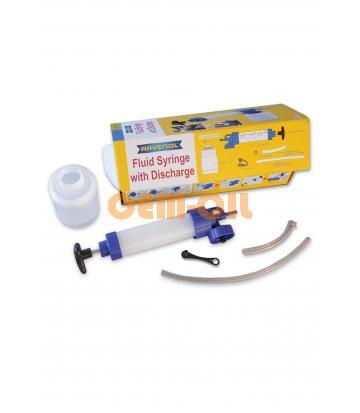 Ручной шприцевой насос RAVENOL® Fluid Syringe with Discharge