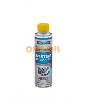 Присадка-очиститель топливной системы бензиновых двигателей RAVENOL Petrol System Cleaner (0,3л)
