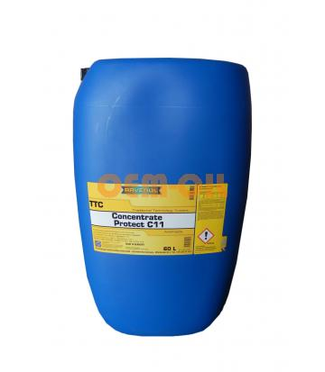 Антифриз концентрат жёлтый RAVENOL TTC Traditional Technology Coolant Concent (60л)