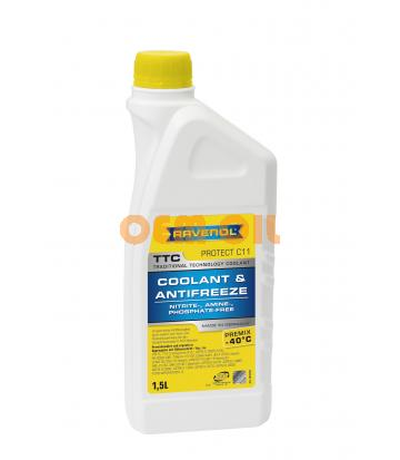Антифриз RAVENOL TTC Traditional Technology Coolant Premix (1,5л)
