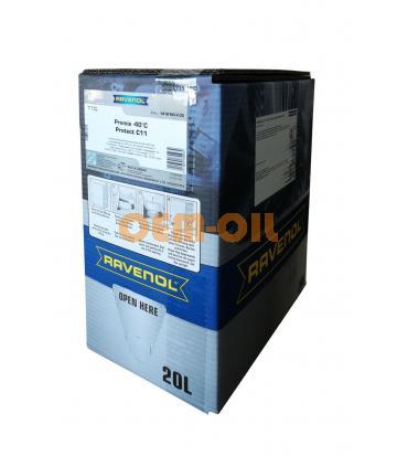 Антифриз готовый к прим. жёлтый RAVENOL TTC Traditional Technology Coolant Premix (20л) ecobox