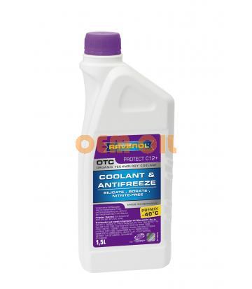 Антифриз готовый к прим. лила RAVENOL OTC Organic Techn.Coolant Premix -40°C (1,5л)