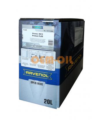 Антифриз готовый к прим. зеленый RAVENOL HJC Hybrid Japanese Coolant Premix -40°C (20 л) ecobox