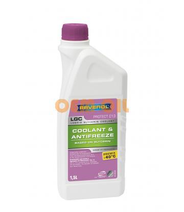 Антифриз готовый к прим. лила RAVENOL LGC Lobrid Glycerin Coolant Premix -40° C13 (1,5л)