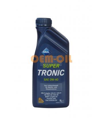 Моторное масло ARAL SuperTronic SAE 0W-40 (1л)