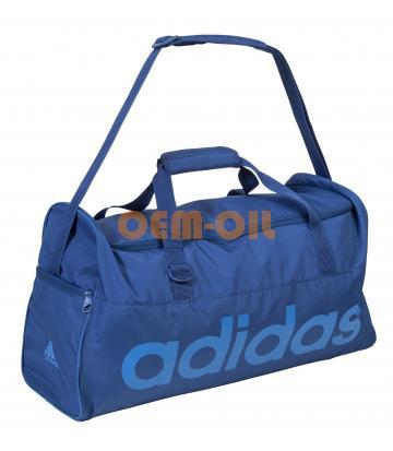Спортивная сумка синяя ADIDAS с логотипом RAVENOL