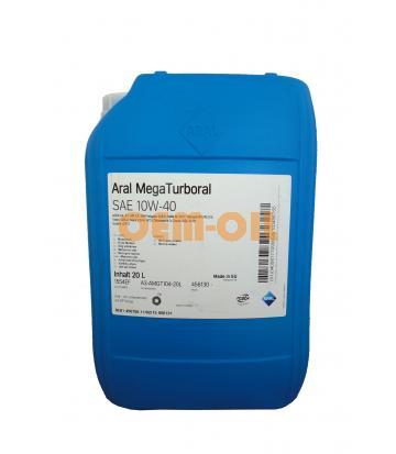 Моторное масло Aral Mega Turboral SAE 10W-40 (20л)