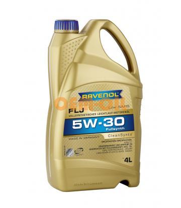 Моторное масло RAVENOL FLJ SAE 5W-30 ( 4л) new