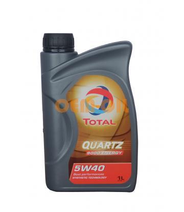 Моторное масло TOTAL Quartz 9000 Energy SAE 5W-40 (1л)
