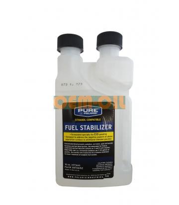 Топливная присадка для консервации двигателей PURE POLARIS Fuel Stabilizer (0,473л)