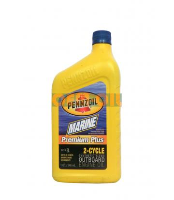 Моторное масло PENNZOIL Marine Premium Plus Outboard 2-Cycle (0,946л)