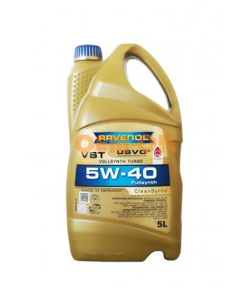 Моторное масло RAVENOL VST SAE 5W-40 ( 5л) new