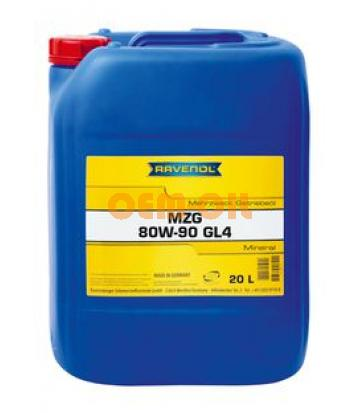 Трансмиссионное масло RAVENOL Getriebeoel MZG SAE 80W-90 GL-4 (20л) new